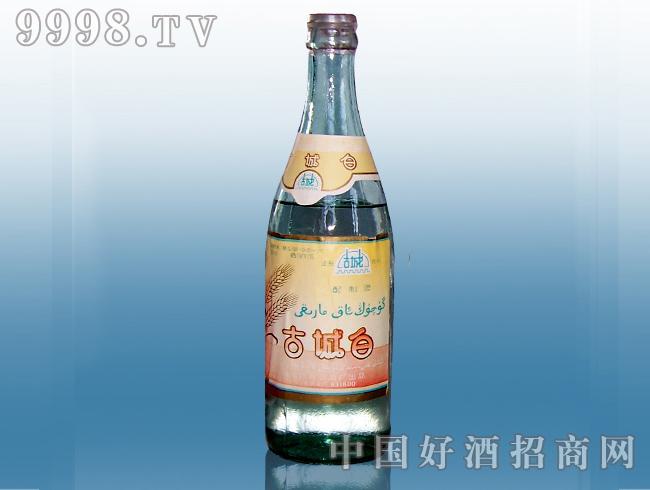 古城白大曲79酒瓶