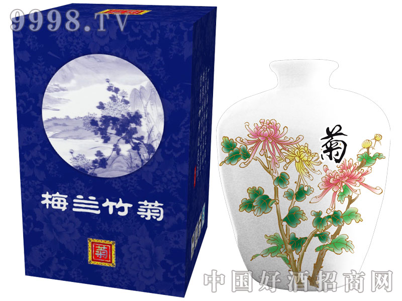 梅兰竹菊-菊