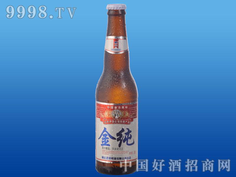 蓝贝金纯啤酒