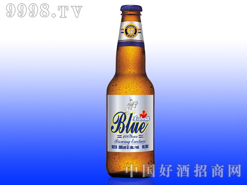 美国蓝带啤酒蓝色经典(305ml)