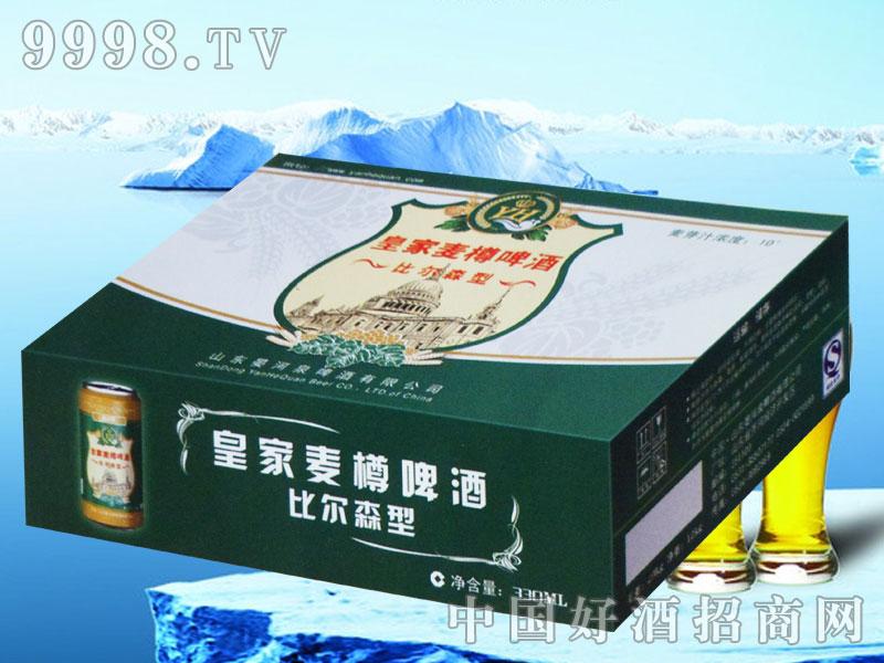 皇家麦樽啤酒-比尔森型330ml(箱)