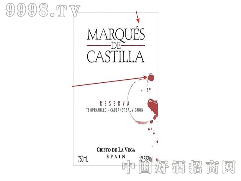 玛贵卡斯提拉经典干红葡萄酒