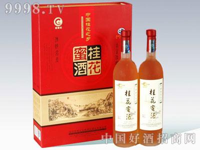 精品礼盒桂花蜜酒