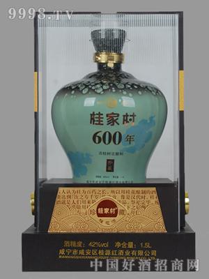 1.5lL600年古桂花酒