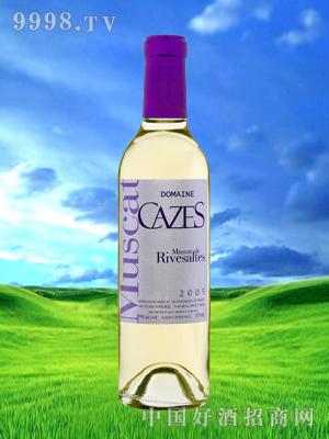 卡兹里维尔特甜白葡萄酒-375m