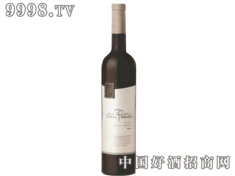 阿根廷大洛尔伽诗意高级干红葡萄酒