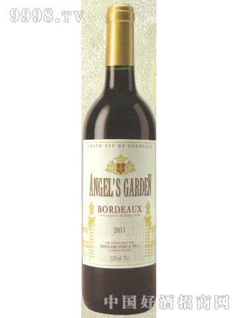 天使之园 波尔多红葡萄酒