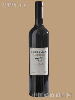 黑马西拉干红葡萄酒