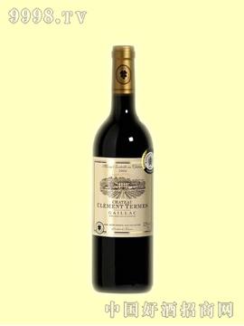 克莱门城堡干红葡萄酒AOC