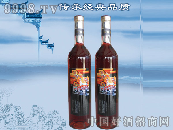 红山城山葡萄配制酒