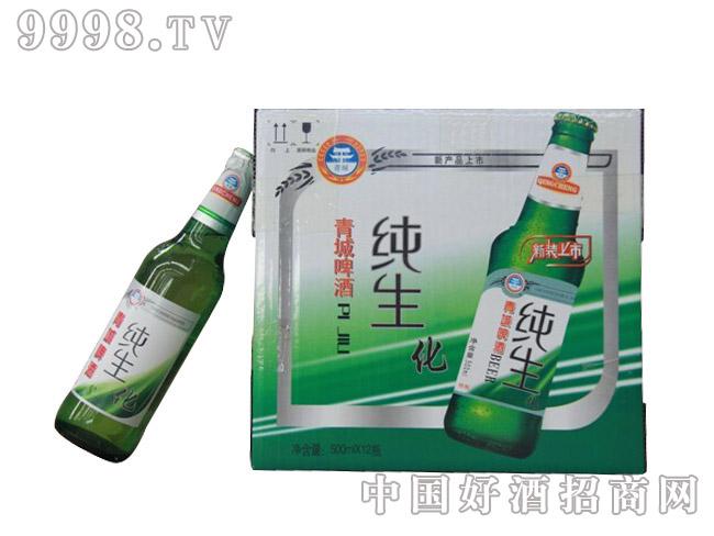 青瑞啤酒箱装纯生化