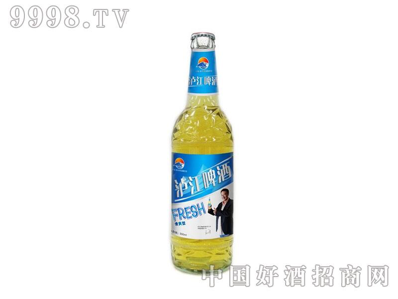 泸江啤酒清爽型瓶子