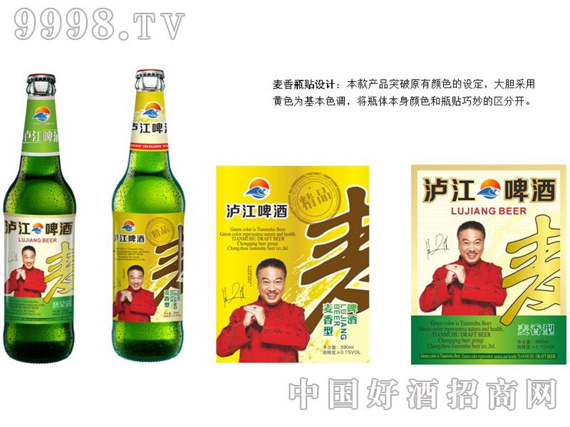 泸江啤酒麦香型组合