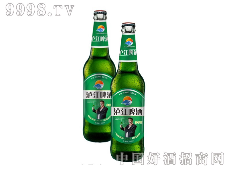 泸江啤酒麦香型绿瓶