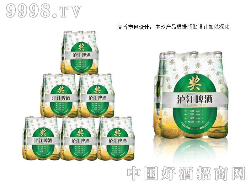 泸江啤酒奖型塑包设计