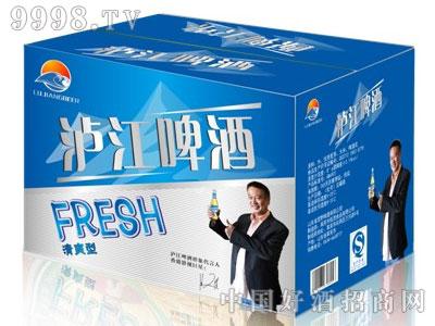 泸江啤酒清爽型