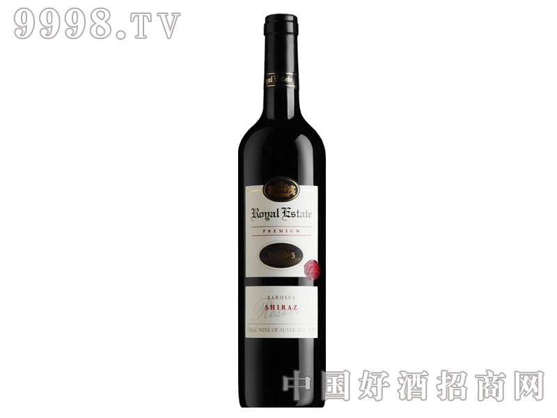 皇家庄园特级舍拉子干红葡萄酒
