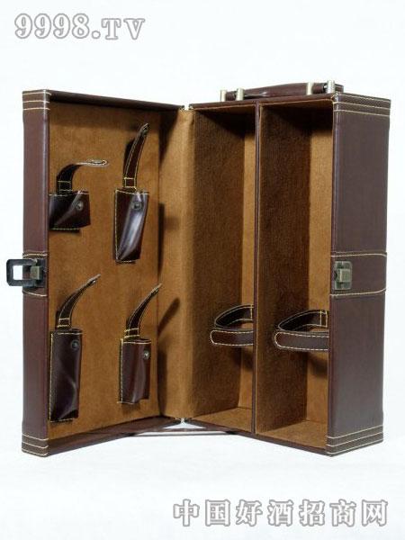 高级葡萄酒2瓶装包装盒