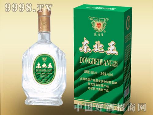 东北王酒460ml绿盒