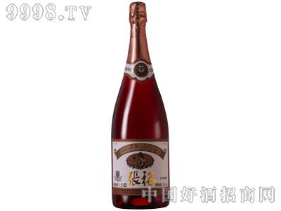 张裕葡萄红香槟加气葡萄酒
