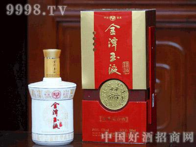 金潭玉液 浓香型(白瓷瓶)