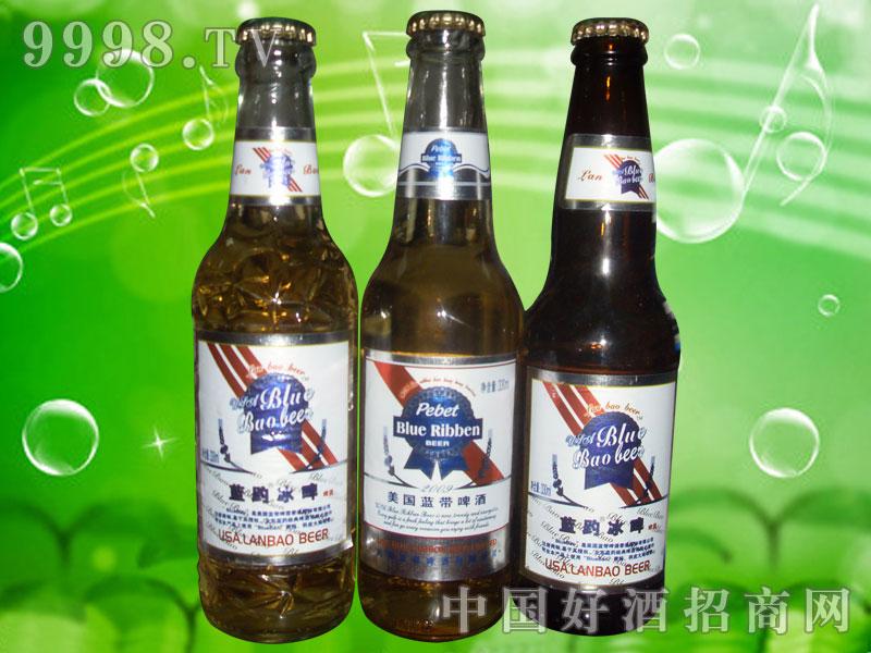 澳德旺330ml蓝趵冰啤、蓝带