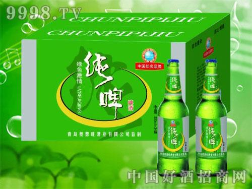 澳德旺ADW019 330ml绿色激情纯啤