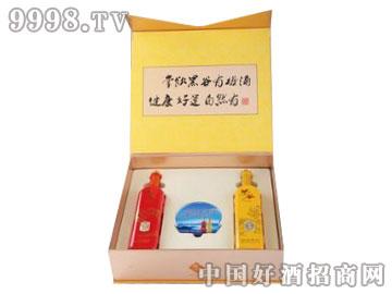 朱�q有机黑谷酒-龙樽凤韵750ml