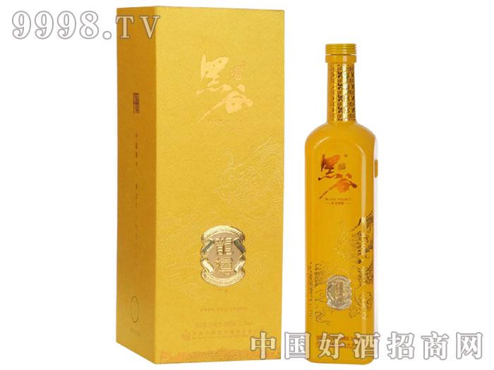 朱�q有机黑谷酒-龙樽版750ml