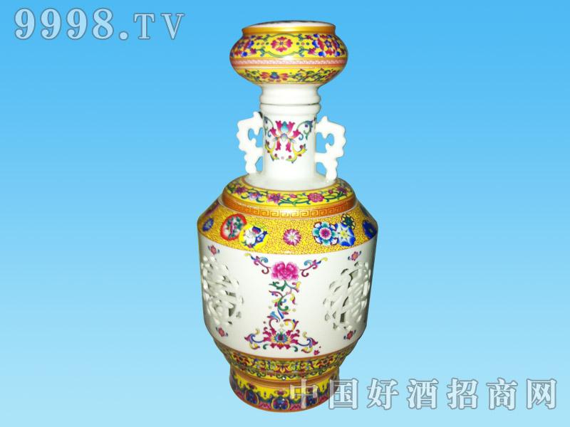 杏之坊 黄色瓷瓶