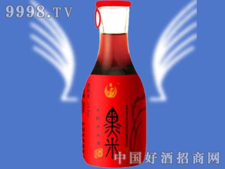 朱�q黑米酒(红标)