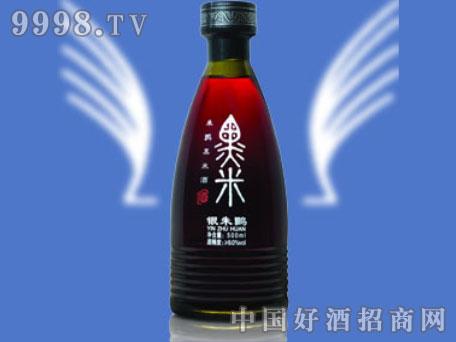朱�q黑米酒(银朱�q)半甜型