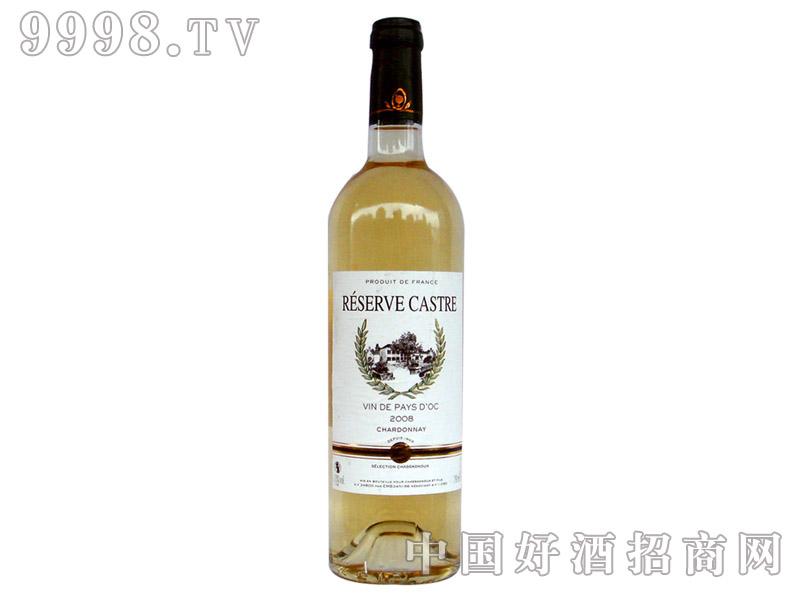 卡斯特罗珍藏干白葡萄酒