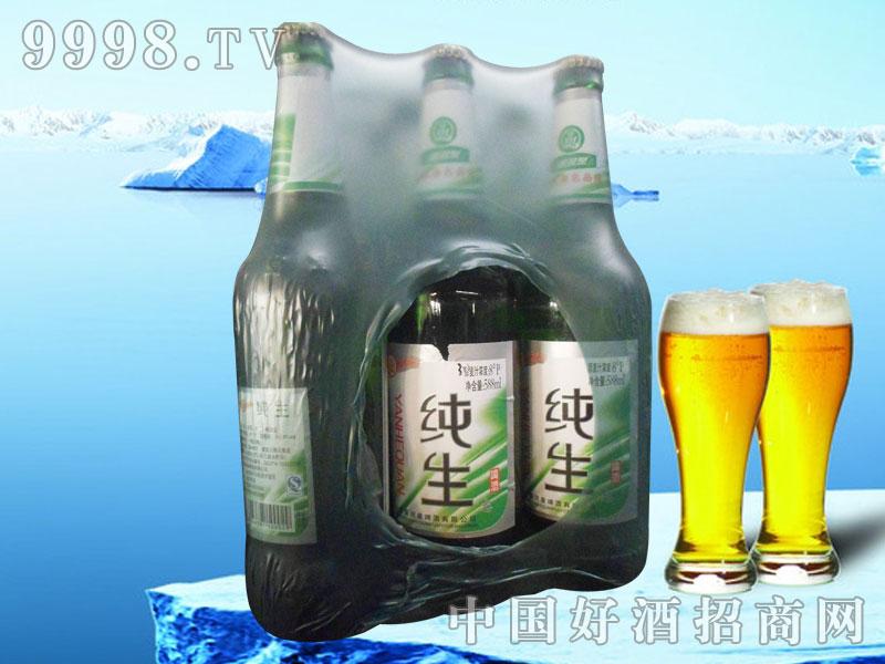 600ml纯生啤酒