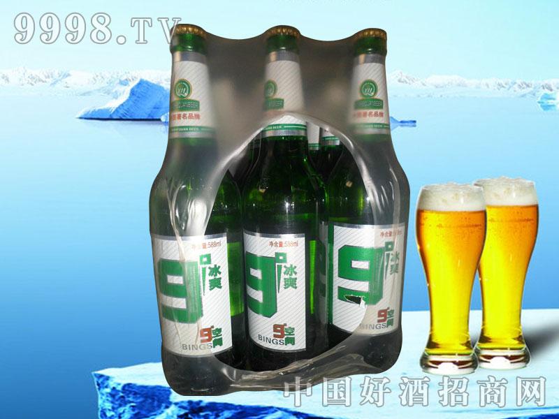 9°冰爽600ml啤酒