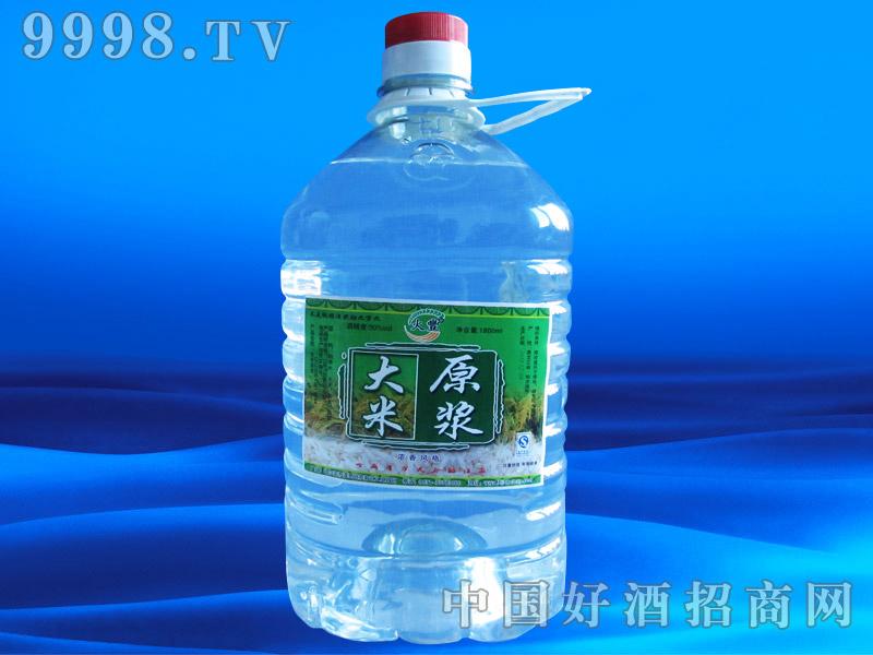 大米原浆1800ml桶酒