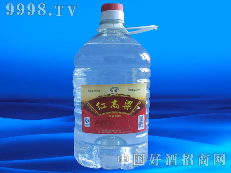 红高粱1800ml桶酒