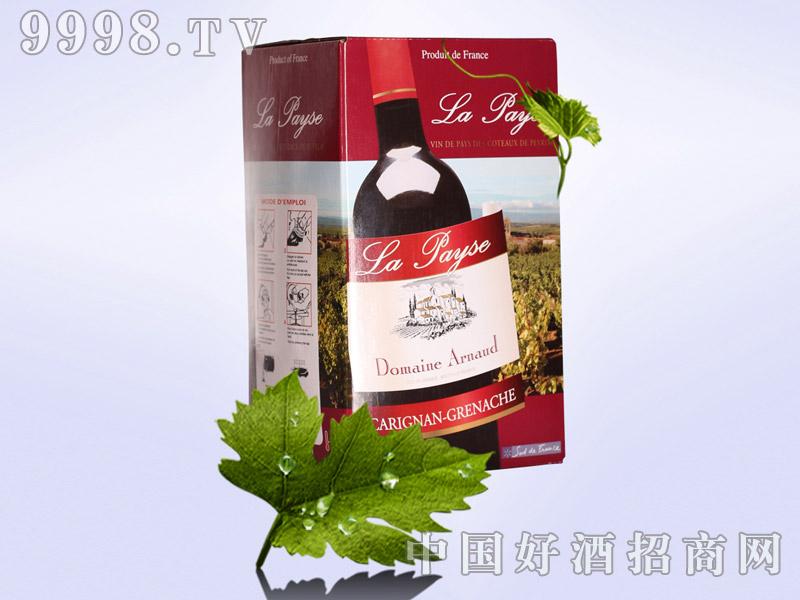 新款热卖法国原装进口3L盒装干红葡萄酒