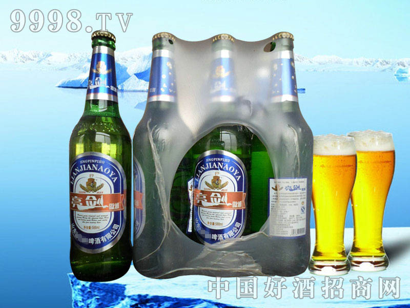亮剑啤酒(塑包)