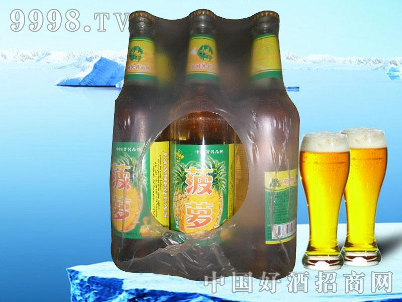 白瓶菠萝果啤