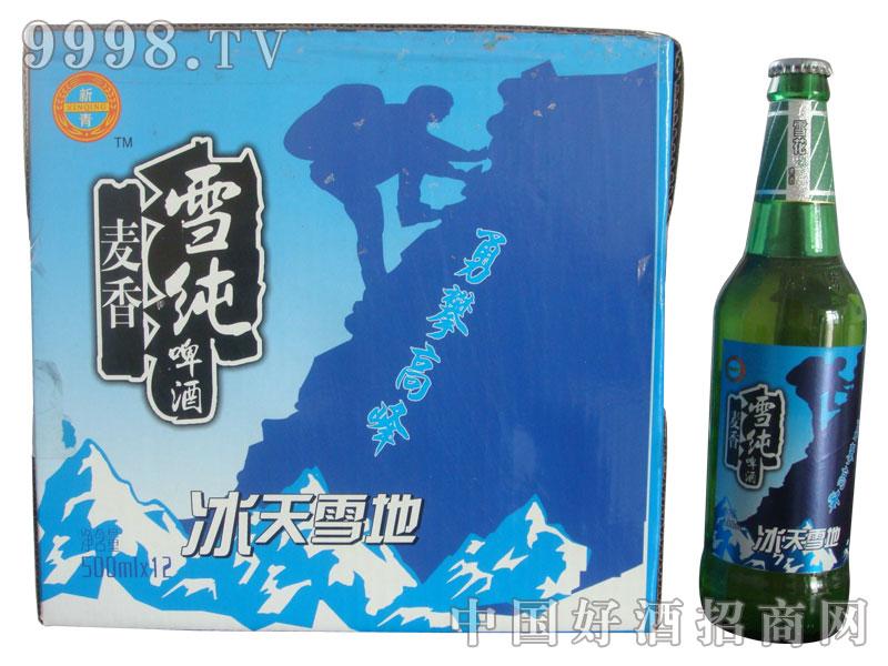 麦香雪纯啤酒(箱)