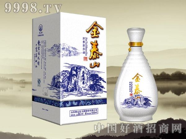 青花瓷金泰山酒