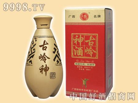 500ml古岭神酒(单瓶陶瓷礼盒)35%vol