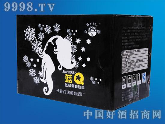 蓝莓果粒饮料(300mlX15瓶)