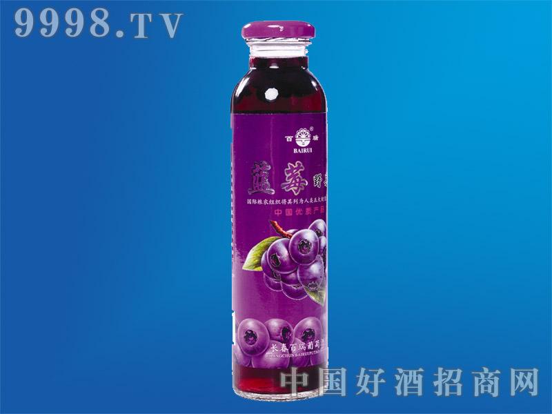 蓝莓野果汁