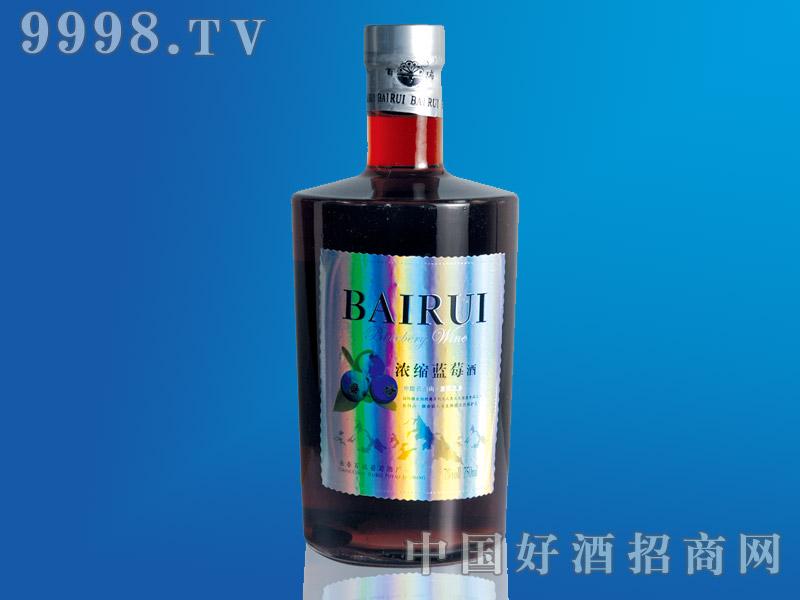 浓缩蓝莓酒750ml