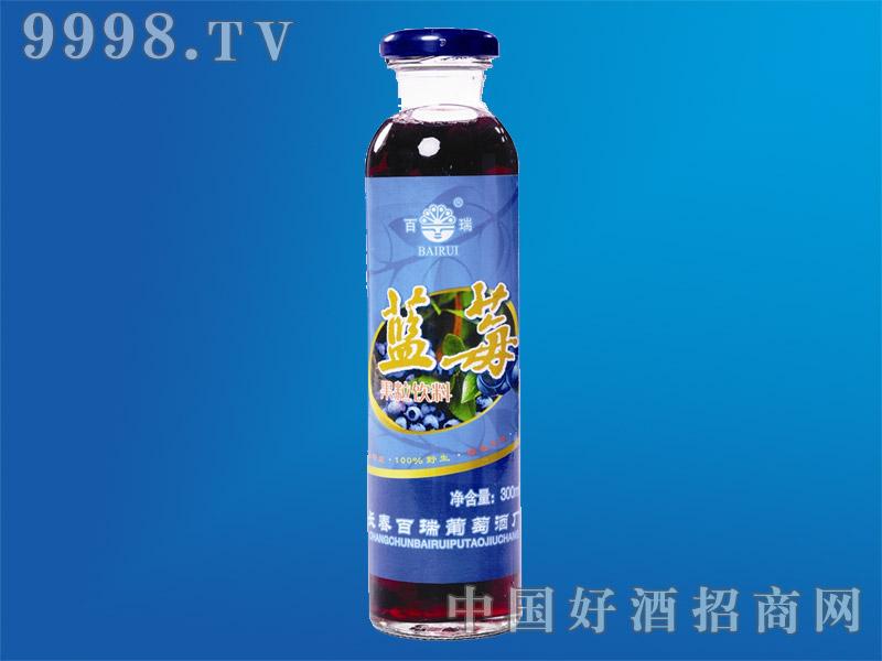 野生蓝莓果粒饮料300ml