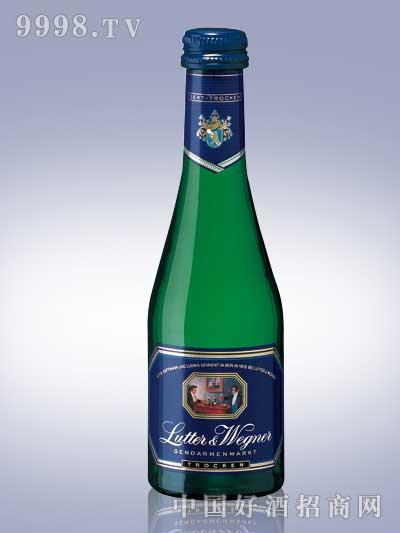 威格纳蓝标起泡白葡萄酒200ML