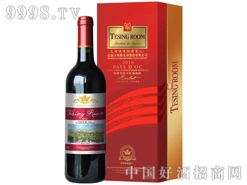卡斯特优质美乐干红葡萄酒