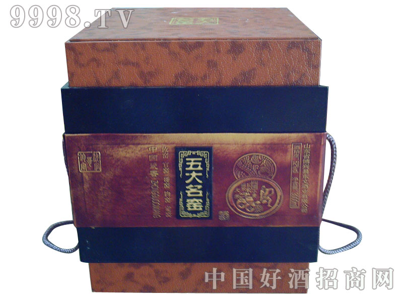 五大名窑石榴瓶包装